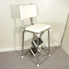 Chair Step Stool Alberta Covers Edmonton Retro 50s Vintage Kitchen