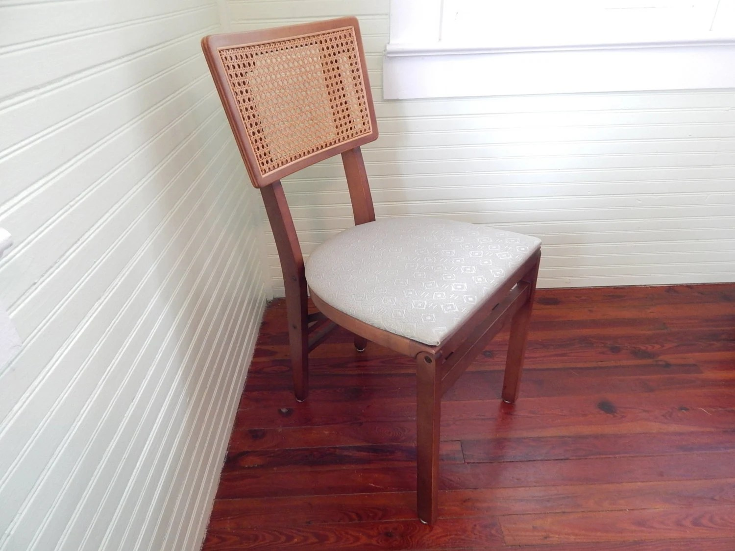 Stakmore Folding Chair Handsome Folding Chair By Stakmore Sturdy Mid Century