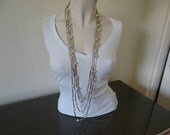 Set of 3 Faux Pearl and S...