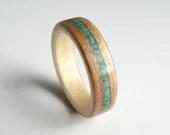 Bent Wood Ring - Cherry l...