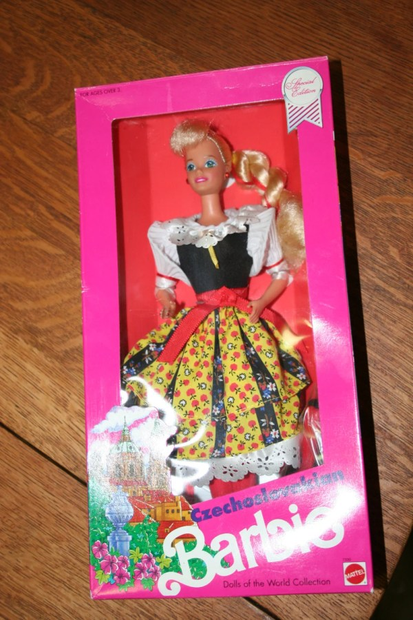 Czechoslovakian Barbie Special Edition 1990 Dolls Of World