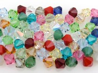 SWAROVSKI Crystal 8mm Bicone Beads Article 5301 Assorted