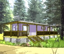 Shipping Container Home Plans 1 Bed Bath Schematic Design