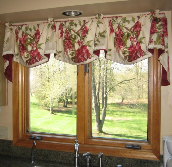 Casual Empire Valance Withknots- Order Fabricmy