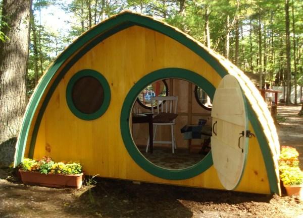 Hobbit Hole Playhouse Kit