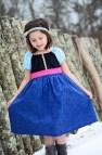 Frozen Princess Anna Dress From