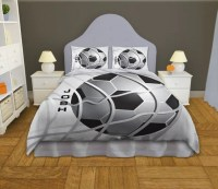 Soccer Comforter Twin Queen King Boys by EloquentInnovations