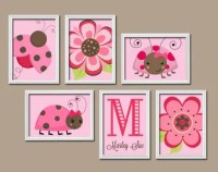 Popular items for ladybug wall art on Etsy