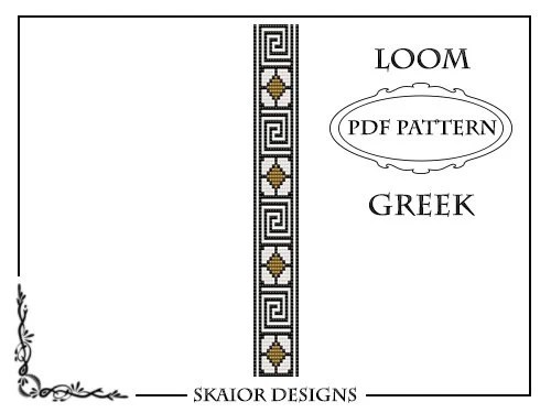Bead Loom Pattern Geometric Pattern Instant Download