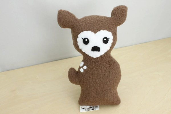 Deer Plushie Doe Stuffed Animal Fawn Softie