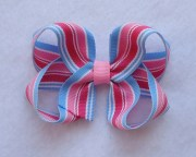 basic twisted boutique hair bow