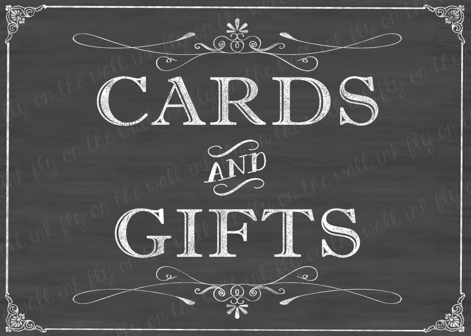 Wedding Chalkboard Sign Printable Cards Wedding Card Sign