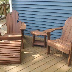 Amish Folding Adirondack Chair Plans Chairs Made Out Of Pallets Michigan With Upper Peninsula Side Table And Ottoman - Fall Liesure, Holiday Gift