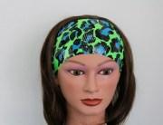 blue green black cheetah print