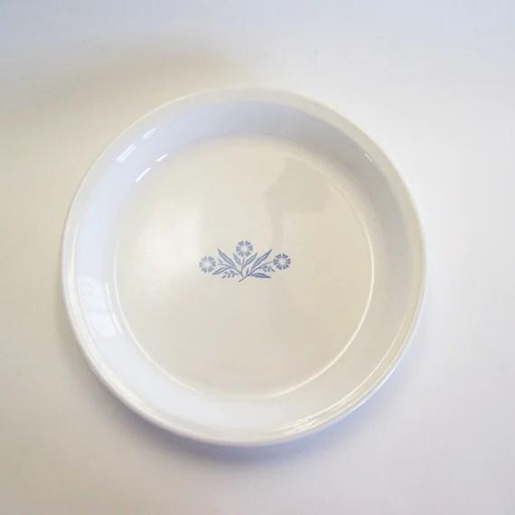 Corningware Cornflower 9 Pie Plate by MyForgottenTreasures