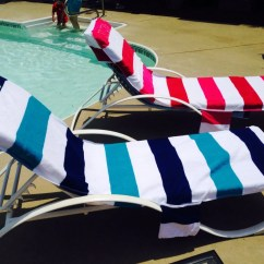 Beach Chair Cover Bunk Bed With Desk And Futon Personalized Lounge Covers