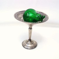 Vintage Sterling Silver Sterling Compote Footed Candy Dish