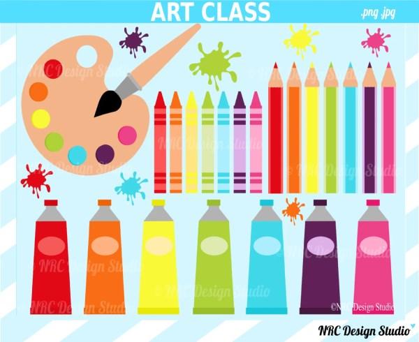 Final Art Supplies School Clip Paint