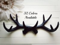 antler wall decor - 28 images - faux antlers plaque wall ...