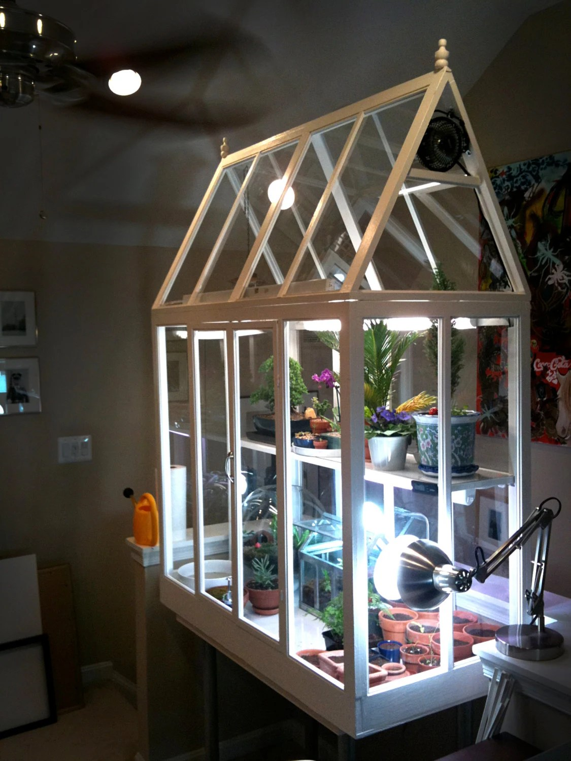 Diy Build Your Own Indoor Greenhouse 132 Page Guide With