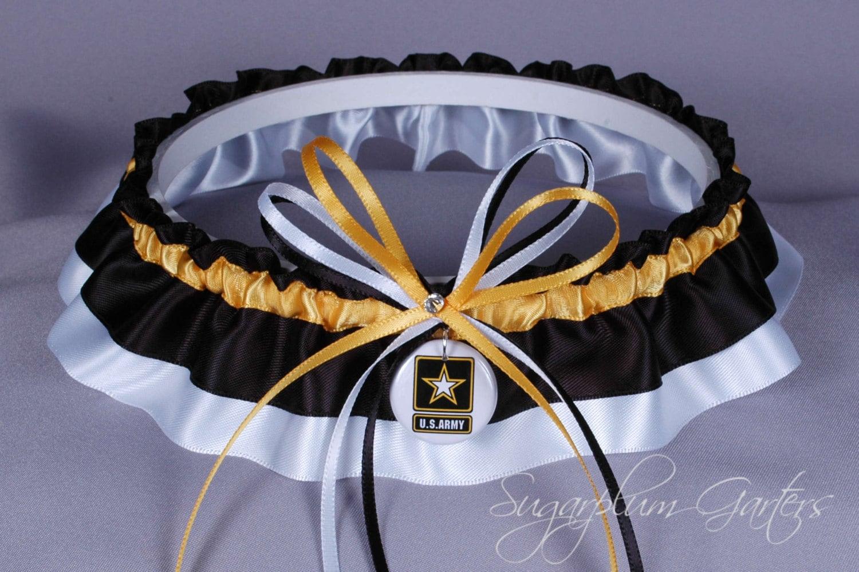 United States Army Wedding Garter