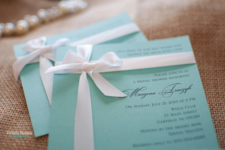 Custom Listing for Traci – Tiffany Box Bridal Shower ...