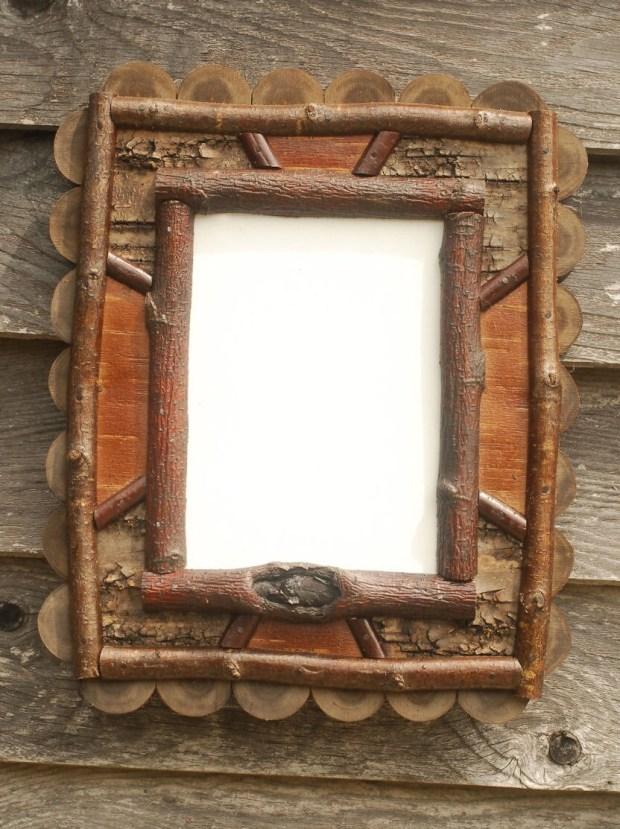 Birch Bark Frames - Home Design Ideas