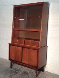 Mid-Century Danish Modern China Cabinet / Hutch / Buffet