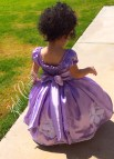 Sofia the First Birthday Dress