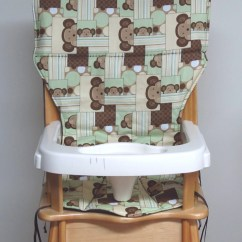 Eddie Bauer High Chairs Posture Chair For Home Pad Replacement Cover Peek A Boo