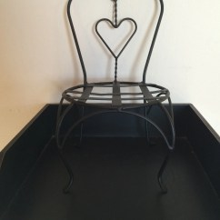 Chair Planter Stand Where To Buy Toddler Table And Chairs Sale Plant With Heart By Sleepyhollowhomedeco