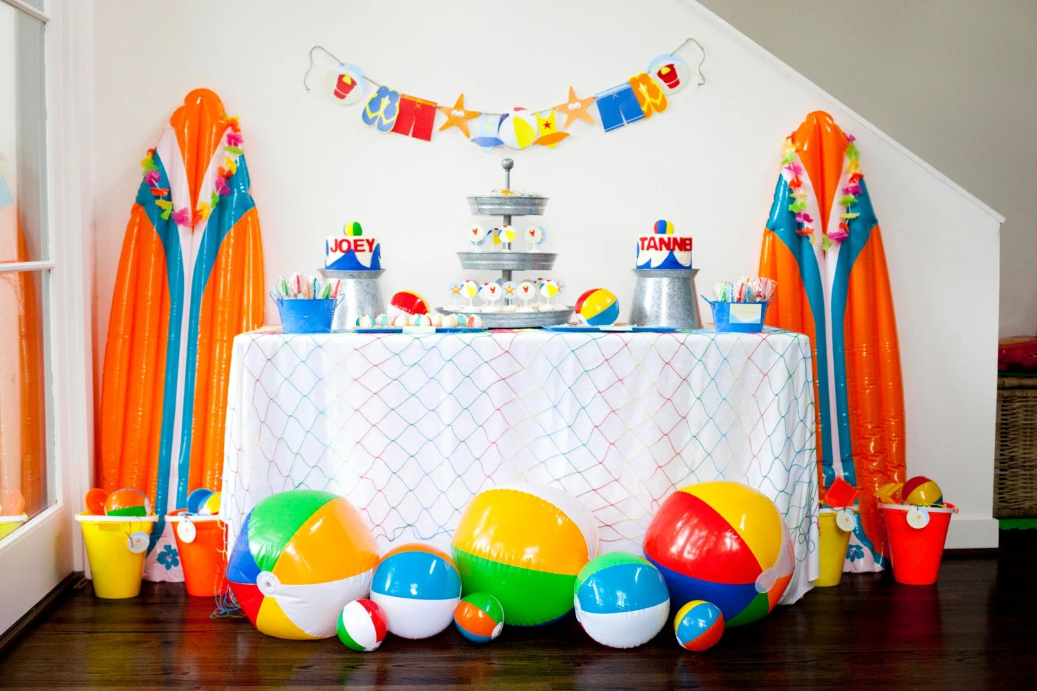 Beach Birthday Party Theme-Beach Party Theme Beach Ball Party