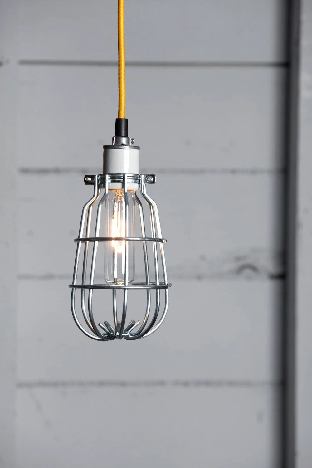 Wire Cage Pendant Light By Parisenvy On Etsy