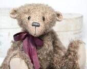 Cecil - A traditional, jointed mohair teddy bear. - ClaytonBears