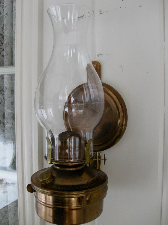 Kerosene/oil/Citronella Copper Finish Wall Mount/Sconce Lamp