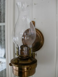 Kerosene/oil/Citronella Copper Finish Wall Mount/Sconce Lamp