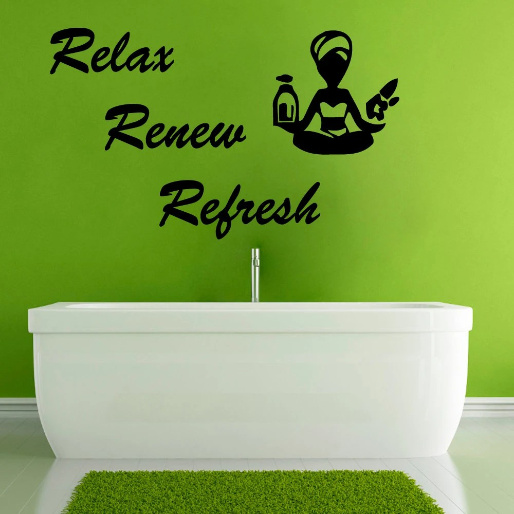 Yoga Wall Decals Wall Quotes Spa Vinyl Decal by