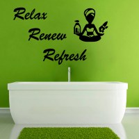 Yoga Wall Decals Wall Quotes Spa Vinyl Decal by ...