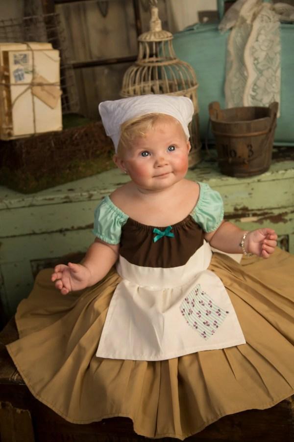 Cinderella Costume Work Dress