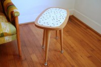Mid Century Modern Side Table Mosaic by ljindustries on Etsy