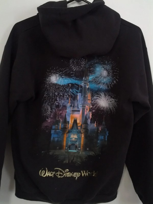 Walt Disney World Hooded Sweatshirt Hoodie Shirt