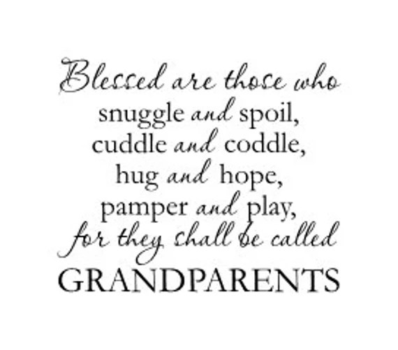 Grandparent Wall Decal by GlassDen