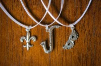 nola cake pulls. set of six sterling silver wedding cake