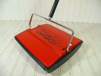 Vintage Bissell Gemini Carpet Sweeper Groovy Mid Century