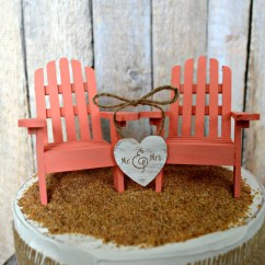 Adirondack Chair Cake Topper Cost To Recover A Happily Ever After Wedding Mr And