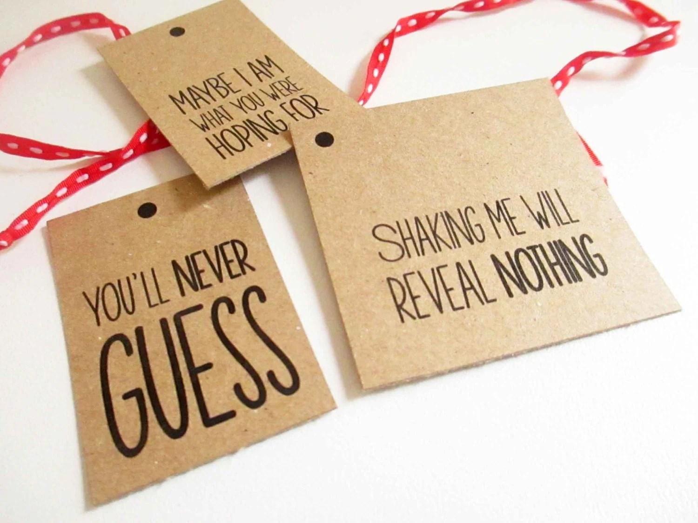 Printable Funny Unique Printable Christmas Gift Tags Set Of