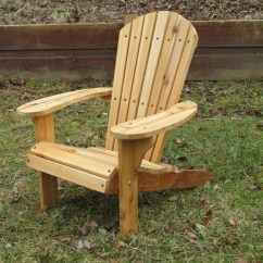 Cedar Adirondack Chairs Plans Tan Leather Chair With Ottoman Kids Western Red Natural Finish