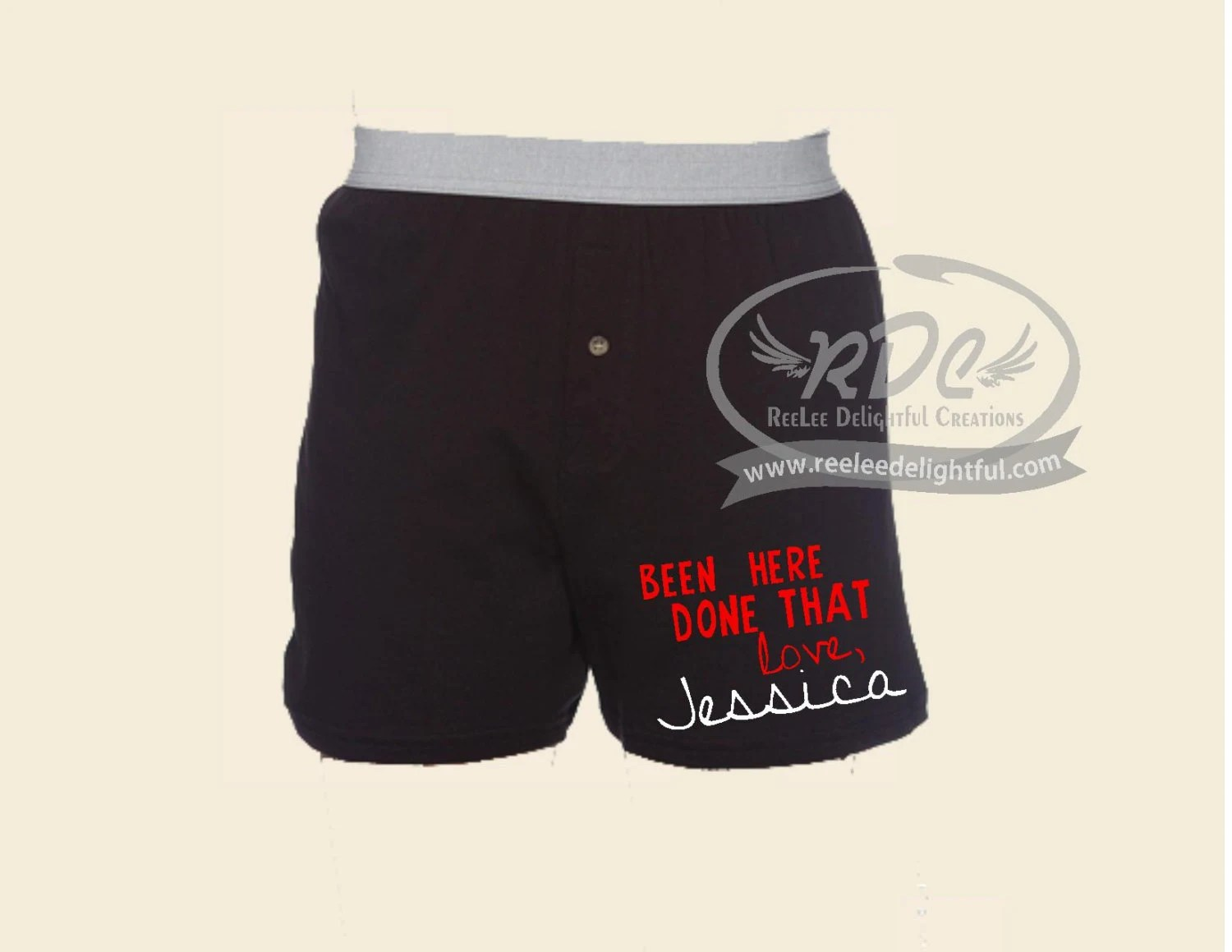 Items Similar To Funny Custom Valentines Day Boxers Gifts