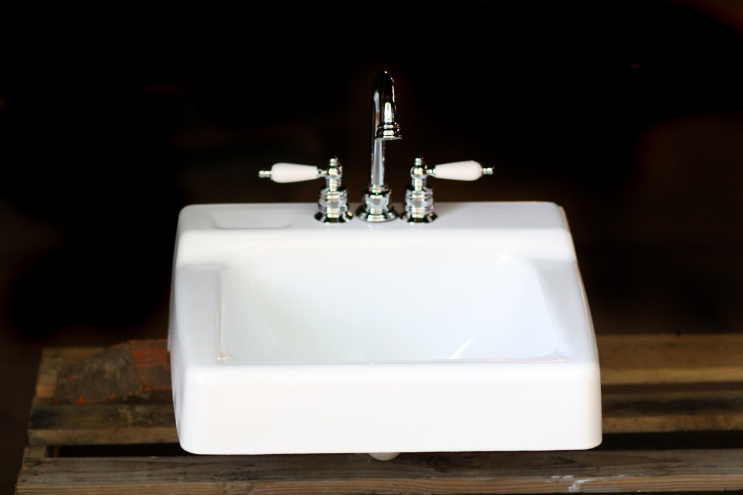 Cast Iron Bathroom Sink 1966 Kohler Porcelain And Cast Iron Period Bath Sink By