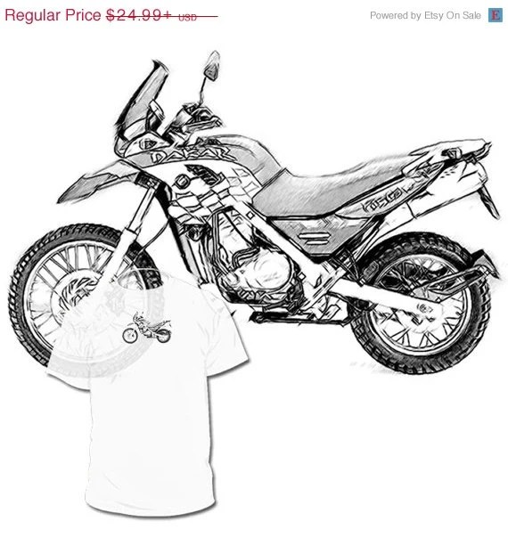 Popular items for motorcycle drawing on Etsy